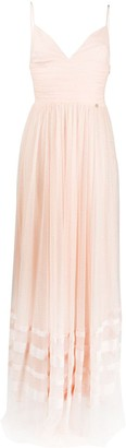 Liu Jo Empire-Line Tulle Maxi Dress