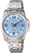 Casio Women's Core LTP1314D-2AV Silver Stainless-Steel Quartz Watch with Dial