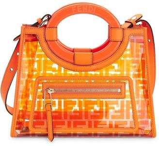 Fendi Small Runaway PVC Shopper