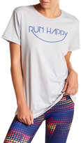 Brooks Run Happy Smiley Tee