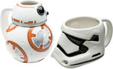 Star Wars Disney BB-8 and Stormtrooper Set of 2 Mugs