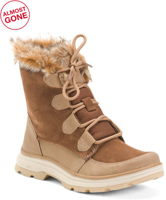 Wide Cozy Winter Boots
