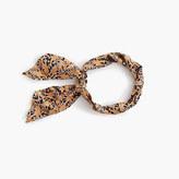 J.Crew Drake's® for skinny silk scarf in giraffe print