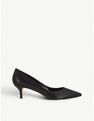Aldo Women's Black Leather Sieria_ Heeled Pumps, Size: EUR 38 / 5 UK WOMEN