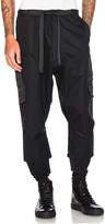Acronym HD Gabardine Drawcord Trousers