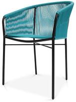 Mexa Anais Armchair - Turquoise black/turquoise