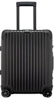 Rimowa Men's Topas 22-Inch Cabin Multiwheel Aluminum Carry-On - Black