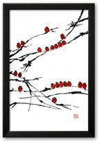 "Art.com Bamboo Chorus"" Framed Art Print By Jenny Tsang"