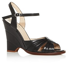 Marc Jacobs Women's Sofia Loves The Wedge Open-Toe Sandals