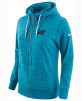 Nike Women's Carolina Panthers Tailgate Vintage Full-Zip Hoodie