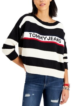 Tommy Jeans Oversized Striped Sweater