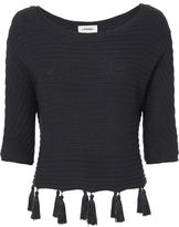 L'Agence Alisia Tassel Detail Dolman Sweater