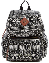 Madden-Girl Jersey Aztec Print Backpack