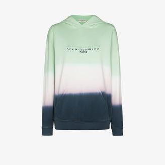 Givenchy Tie-Dye Logo Cotton Hoodie