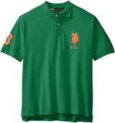 U.S. Polo Assn. Men's Big and Tall Solid Pique