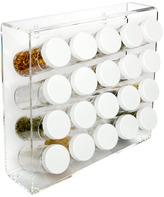 Acrylic 20-Bottle Spice Rack