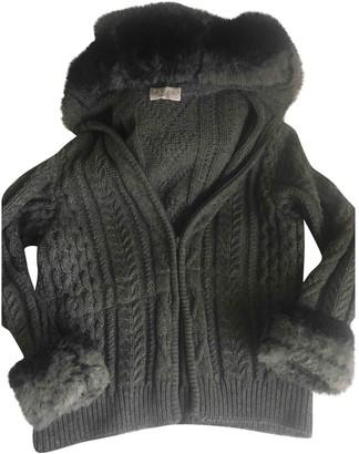 Byblos Grey Wool Jacket for Women