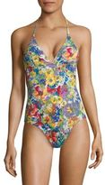Stella McCartney One-Piece Floral Swimsuit
