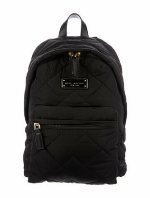 Marc Jacobs Quilted Nylon Backpack Blue