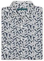 Perry Ellis Exclusive Leaf Print Shirt