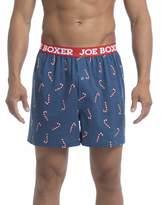 Joe Boxer Men's Candy Cane Loose Boxer Underwear