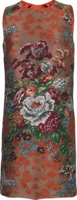 Dolce & Gabbana Jacquard Floral Shift Dress