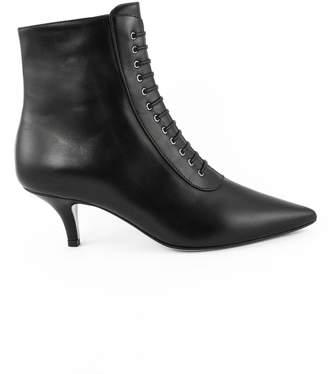 Roberto Festa Ankle Boot In Black Leather