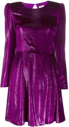 Liu Jo flared cut-out detail dress