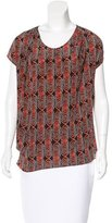 Thakoon Silk Printed Top