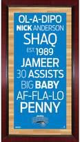 Steiner Sports Orlando Magic 32'' x 16'' Vintage Subway Sign