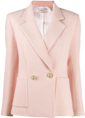 Alessandra Rich Decorative Button Blazer