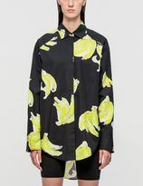 MSGM Printed Oversized Shirt