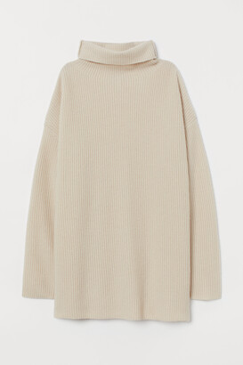 H&M Cashmere Turtleneck Sweater