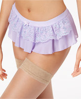 Maidenform Extra Sexy Floral-Lace Skirted Thong DM1123, A Macy's Exclusive Style