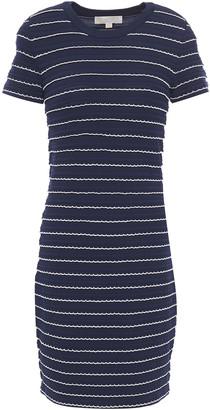 MICHAEL Michael Kors Scalloped Stretch-knit Mini Dress