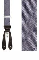 Trafalgar Men's 'Verona' Silk Suspenders