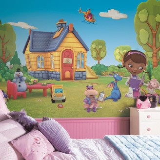 York Wall Coverings Disney's Doc McStuffins Removable Wallpaper Mural