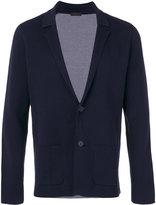 Z Zegna notched lapel blazer - men - Cotton - M