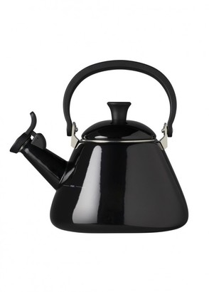 Le Creuset Kone Kettle With Fixed Whistle 1.6l Black
