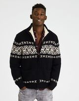 American Eagle Outfitters AE Faux Sherpa Zip-Up Sweater