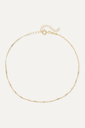 Catbird Net Sustain Sweet Nothing Gold Anklet
