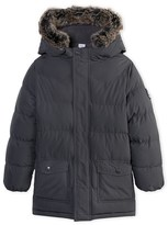 Petit Bateau Boys quilted lined anorak