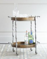 GG Collection G G Collection WOOD AND METAL BAR CART
