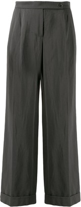 LANVIN Pre-Owned 2006 Wide Leg Trousers