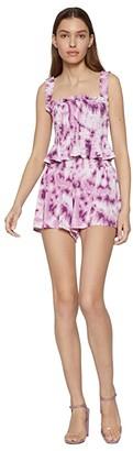 BCBGeneration Sleeveless Smocked Knit Top - TUN1272035 (Lavender Herb) Women's Clothing
