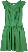Miu Miu Jersey ruffle dress