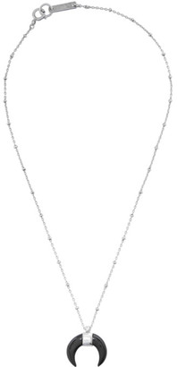 Isabel Marant Black and Silver Zanzibar Necklace