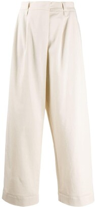 Brunello Cucinelli High-Waisted Wide Leg Trousers