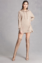 Forever 21 FOREVER 21+ Thigh-High Caged Boots