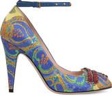 Gucci Gish 105 embellished jacquard heels